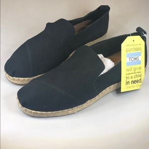 (p248) Toms Women's Slip-on Flats 9M